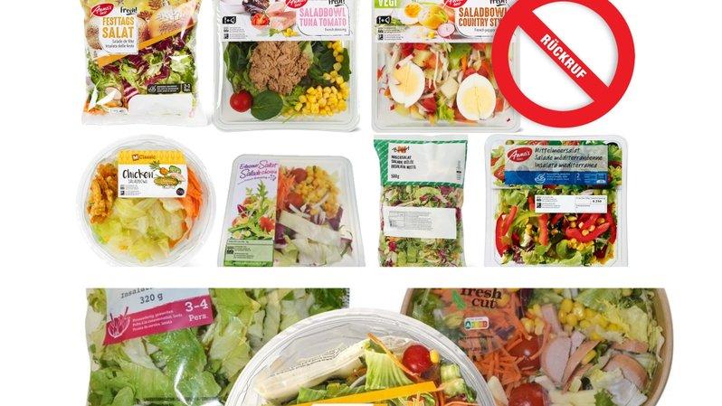 Un risque pour la santé n'est pas exclu si vous mangez l'une de ces salades.