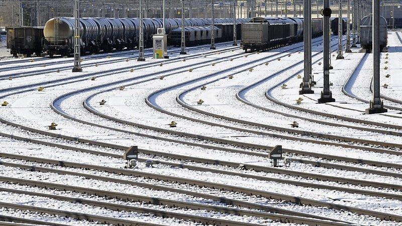 La météo des derniers jours a perturbé le réseau ferroviaire.