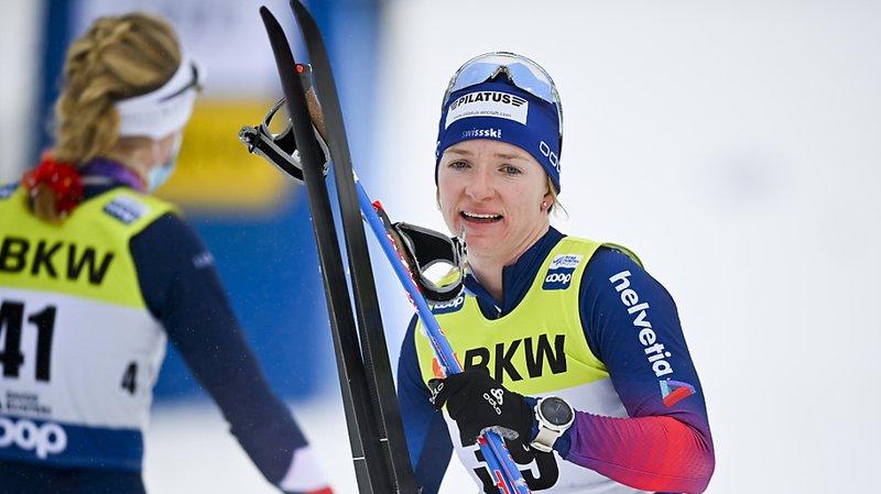 Ski nordique: premier succès en Coupe du monde pour Nadine Fähndrich