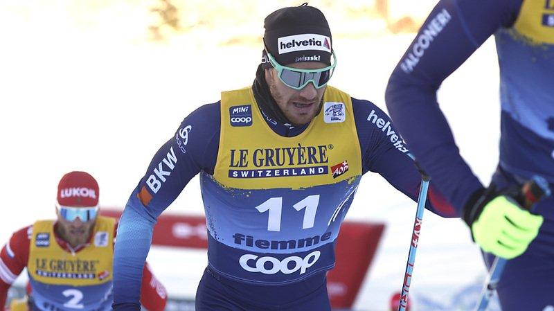 Dario Cologna a pris la 17e place de la dernière étape.
