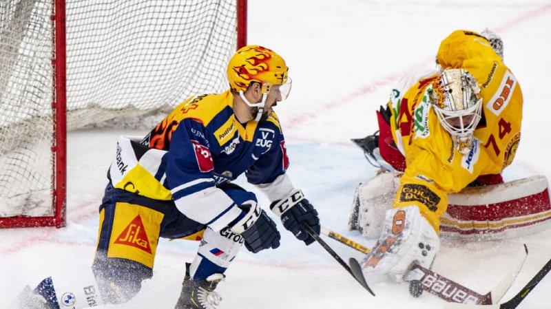 Hockey sur glace – National League: Zoug seul leader après son succès face à Langnau