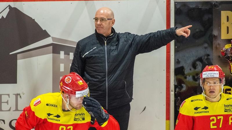 HC Sierre: «Je ne veux pas encore envisager une qualification directe», prévient Dany Gelinas