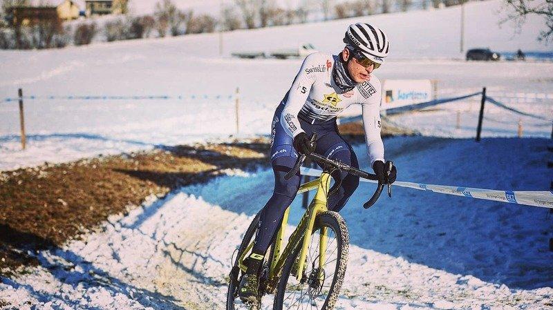 Cyclocross: le Valaisan Gilles Mottiez, 24 ans, découvrira les Mondiaux qui se courront en Belgique