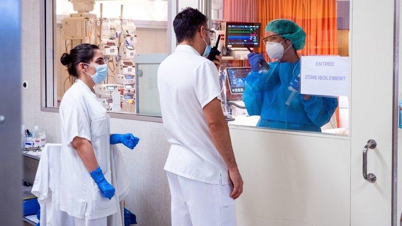 Le Valais compte peu de patients Covid hospitalisés actuellement.