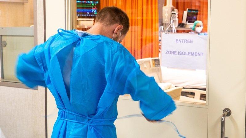 Coronavirus: la situation devient tendue à l'Hôpital du Valais