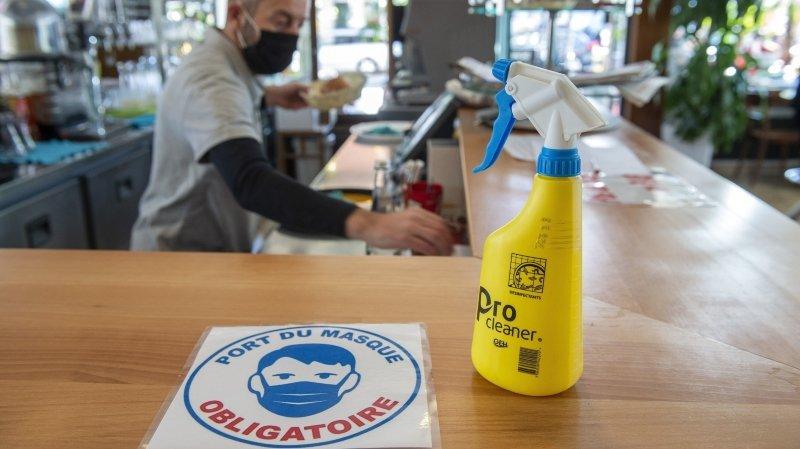 Fermeture des restaurants: le Valais veut rester l'exception