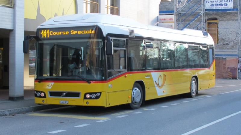 La ligne de bus reliant Saint-Gingolph à Aigle a disparu depuis 2018.