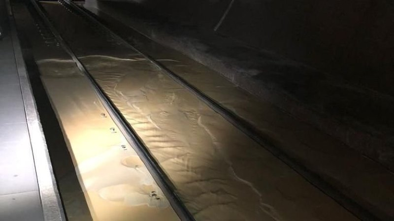 Début 2020, le tunnel a connu plusieurs épisodes d'infiltrations d'eau qui ont perturbé le trafic ferroviaire.