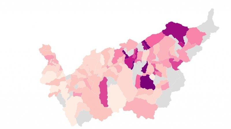 Coronavirus: incidence en hausse dans le Valais romand pour la première semaine de janvier