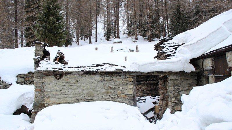 Valais: incendie dans une cabane d'alpage