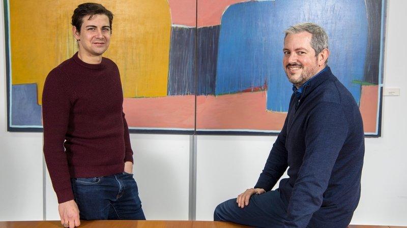 Antoine Fournier et Damien Roch: présidents de commune et politiciens comme papa