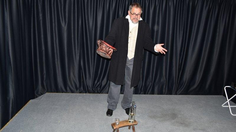 Valais: Cédric Jossen propose une pièce de théâtre à voir chez soi