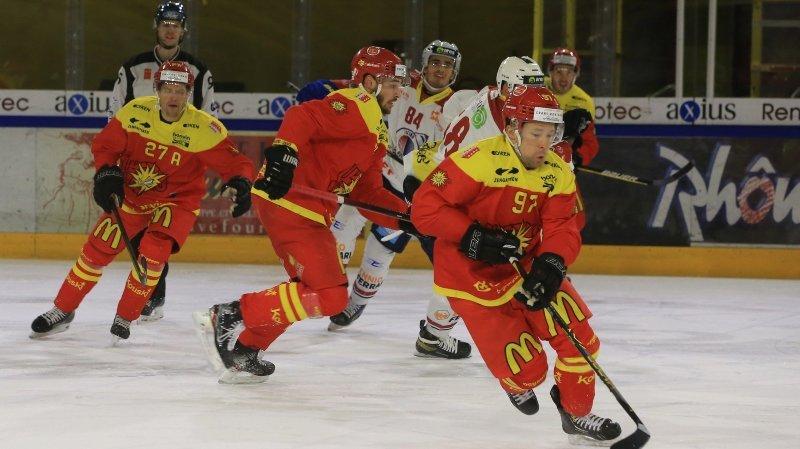 Mené en fin de match, le HC Sierre limite les dégâts grâce aux pénaltys