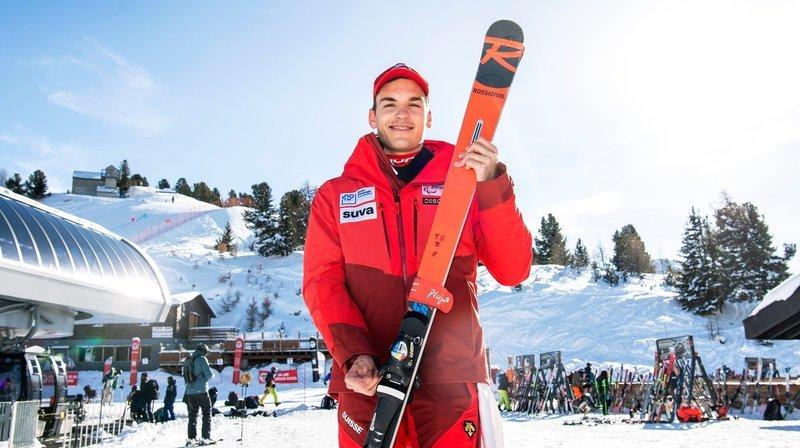 Ski handicap: le Valaisan Théo Gmür a déjà les Jeux de Pékin dans un coin de sa tête