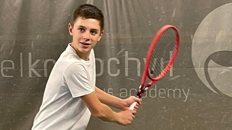 Tennis: Timéo Gaillard, à Berne pour continuer à grandir