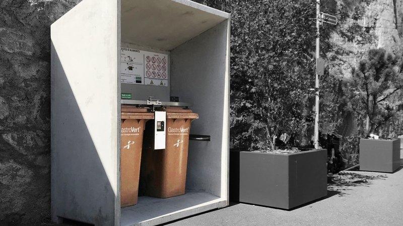 Déchets alimentaires: le système de collecte GastroVert débarque à Sierre