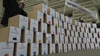 Plus de 117'000 signatures contre la loi sur le CO2