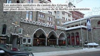 Tests à grande échelle dans deux hôtels de St-Moritz (GR)