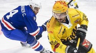 Hockey sur glace: Vincent Praplan et le CP Berne, la poisse collée aux patins