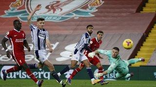 Football: Liverpool échoue à faire la différence face à West Bromwich