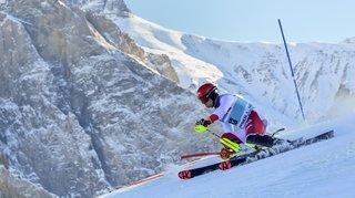 Les Suisses trahis par les centièmes au slalom d'Adelboden