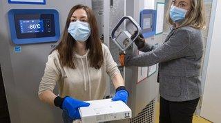 Acheminement des vaccins: ruée sur les congélos à ultrabasse température