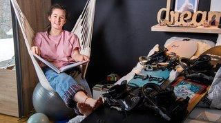 Freeride: une blessure au genou n'atténue pas les espoirs de sommet de Zoé Macgeorge