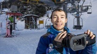 A 23 ans, Antoine Favre vit et dort remontées mécaniques: sa chaîne YouTube est une référence