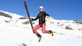 Le ski-alpinisme permet à Arnaud Gasser d'assouvir son goût de l'effort