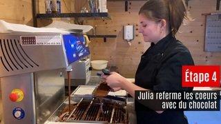 Nos artisans ont du talent: Julia Delalay Pattaroni, chocolatière à Monthey