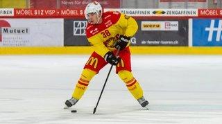 Hockey: Guillaume Asselin, le Canadien du HC Sierre, a, lui aussi, élevé son niveau de jeu