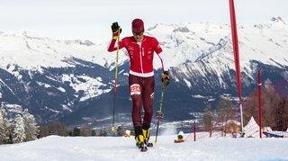 Ski alpinisme: Aurélien Gay accroche la médaille de bronze des championnats de Suisse de course verticale en élites
