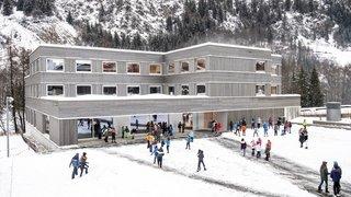 Val de Bagnes: une école toute neuve à Versegères