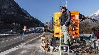 Mission accomplie pour Olivier Granges, le «gardien» du pont de Gueuroz