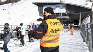 Tourisme: coronavirus et météo ont plombé Noël