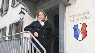 Riddes: Christel Duc, l'employée communale devenue présidente