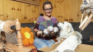 Nos artisans ont du talent: Lucie Moix file du poil d'animaux de compagnie