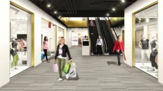 Monthey: bientôt 30 commerces sous un même toit