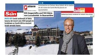 Le président de Salvan Florian Piasenta contraint à une quarantaine dorée à Saint-Moritz
