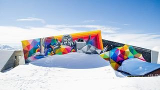 Crans-Montana: découvrez l'art urbain sur les pistes de ski