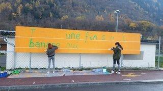 Martigny: le Centre de loisirs et culture parsème la ville de «panneaux du bonheur»