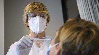 Valais: le nombre de contaminations au coronavirus reste à un niveau élevé