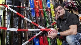Coronavirus: les magasins de sport valaisans pourront ouvrir les secteurs location et réparation