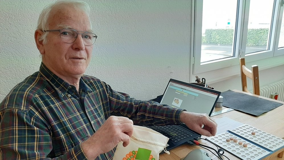 Il aura fallu trois mois à Raymond Turin pour mettre au point son logiciel.