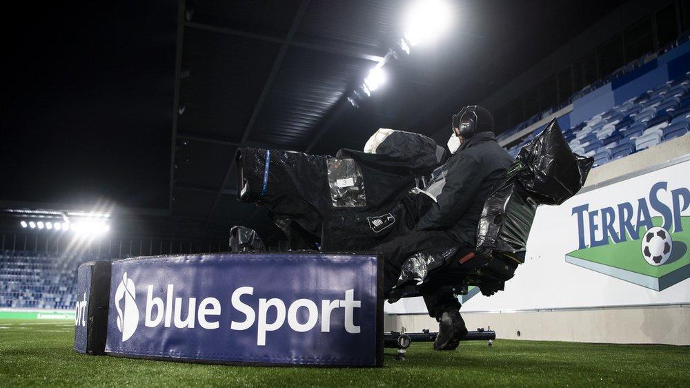 Les abonnées de Blue Sport peuvent notamment regarder les matches de Super League, de Challenge League et de Ligue des champions.