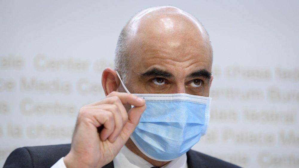 Pour le conseiller fédéral, l'objectif est que toute la population puisse se faire vacciner d'ici l'été.