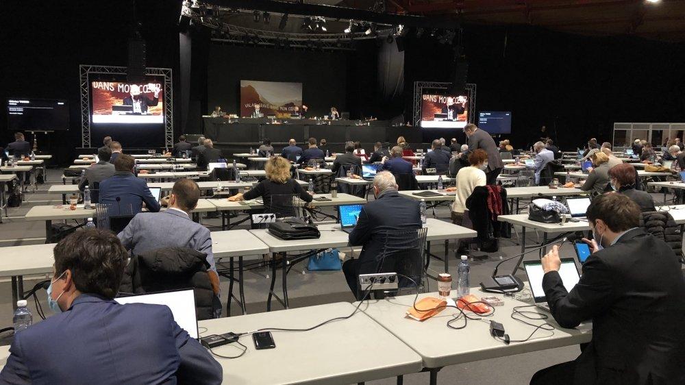 Le Grand Conseil ne veut pas d'un nouveau service dédié à la gestion des crues du Rhône.