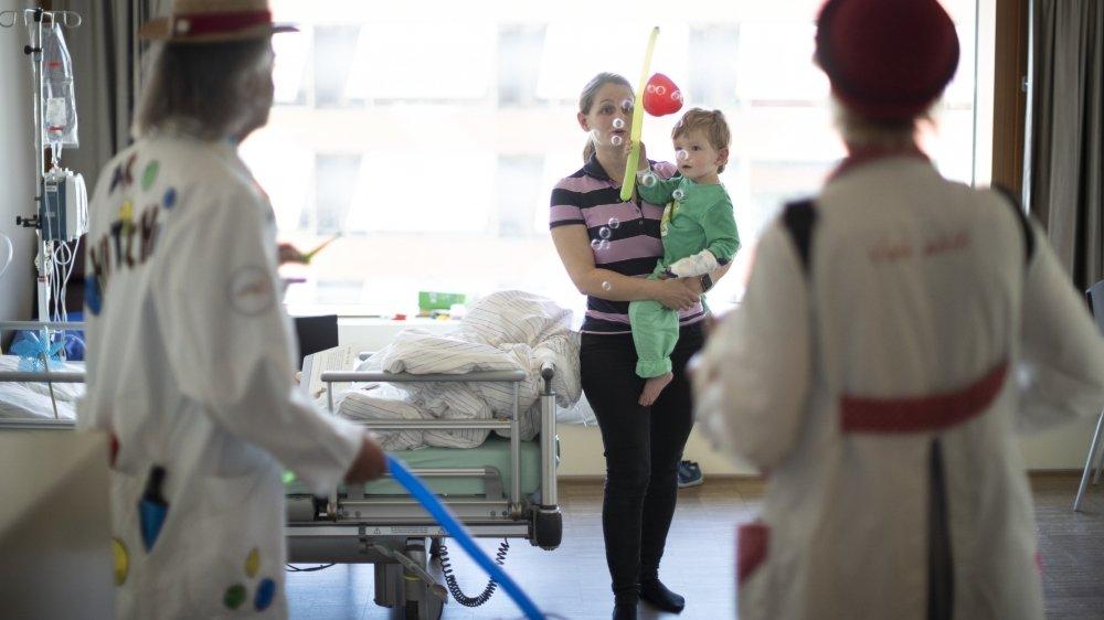 Pour beaucoup d'enfants cancéreux, l'antidouleur «MST continus suspension retard» revêt une grande importance, car il n'a pas d'équivalent.Keystone/a