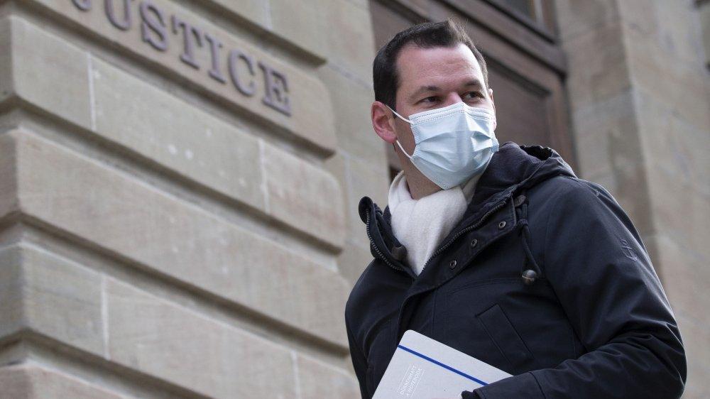 Selon le premier procureur Stéphane Grodecki, le conseiller d'Etat Pierre Maudet s'est cru au-dessus des lois.