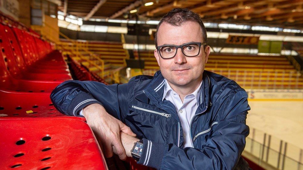 Alain Bonnet, président du HC Sierre, espère quitter Graben dans les plus brefs délais.